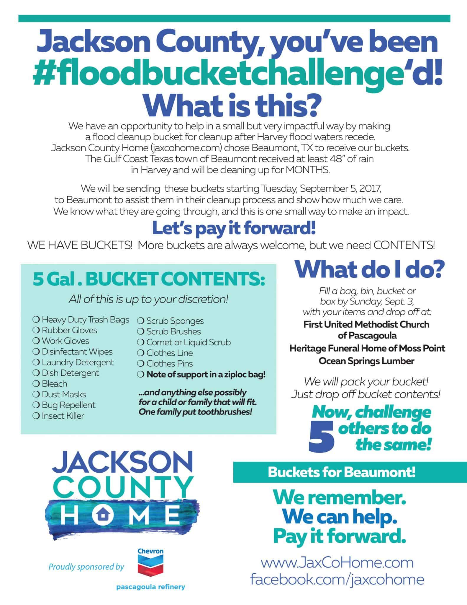 bucketlist-1 How Jackson County Can Help with #BucketsForBeaumont