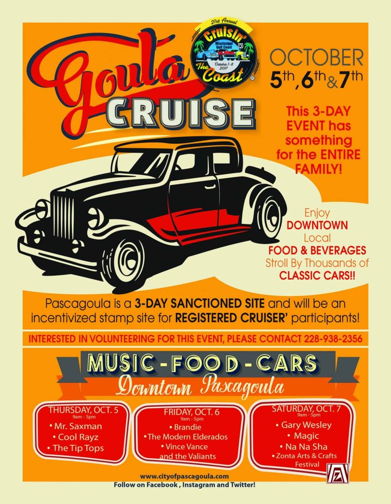 drive-in-movie-flyer-791x1024 Pascagoula Beach Park Kicks of for Cruisers!