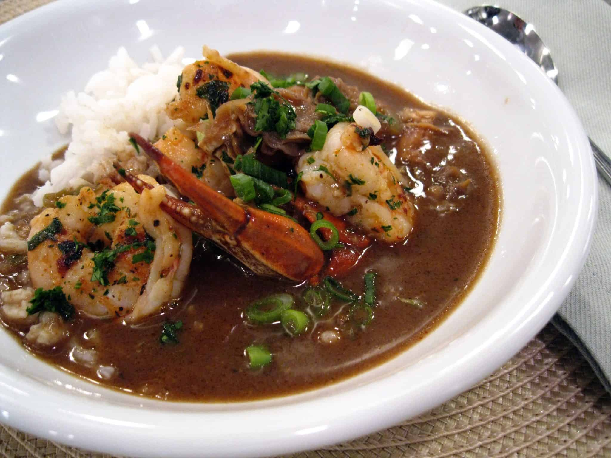 Emerils-Classic-Seafood-Gumbo Churches Face-Off for Gumbo Cook-Off