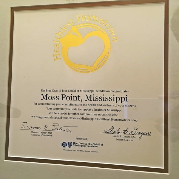 "blue-crossjpg-b158cacb15b83317 Moss Point Celebrates Being Named ""Mississippi's Healthiest Hometown"""
