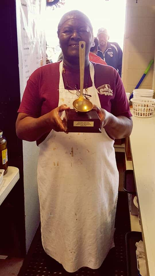 golden-ladle-winner- Solomon Temple Wins Gumbo Cook-Off