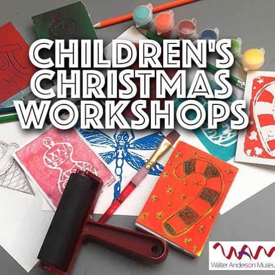 24991411_1749461491732311_268956239002927660_n Children's Christmas Workshops Available at the Walter Anderson Museum of Art