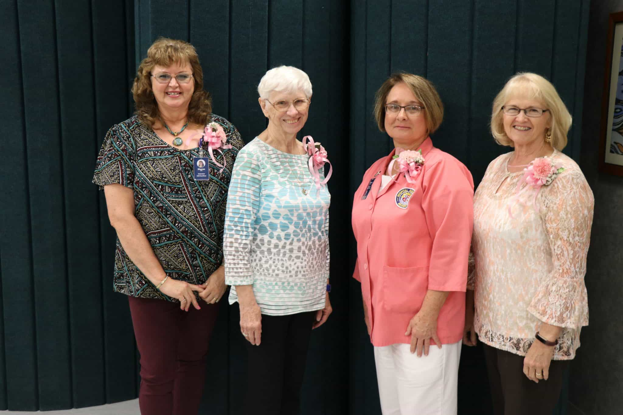OSH-Auxiliary-Officers-2018 Singing River Health System Auxiliary Volunteers Elect New Officers for 2018,  Name Volunteers of the Year