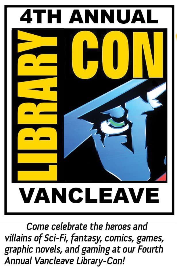 Vancleave-Library-Con-2018 Vancleave Library To Host Fourth Annual Library-Con